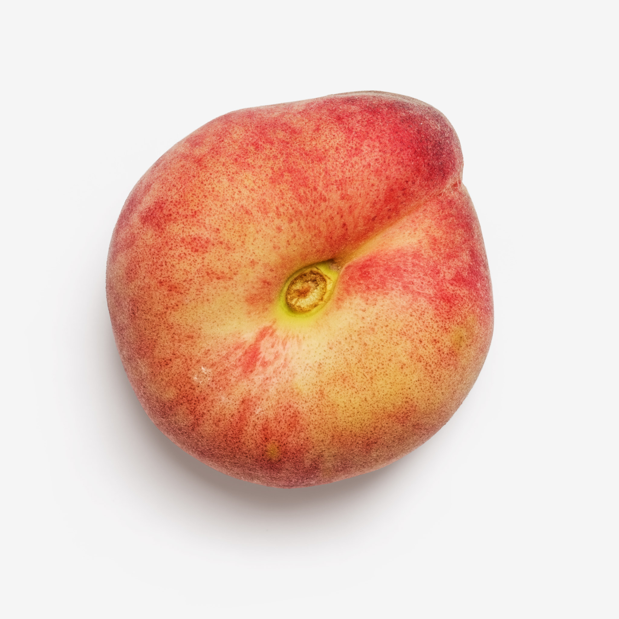 Nectarine PSD isolated image