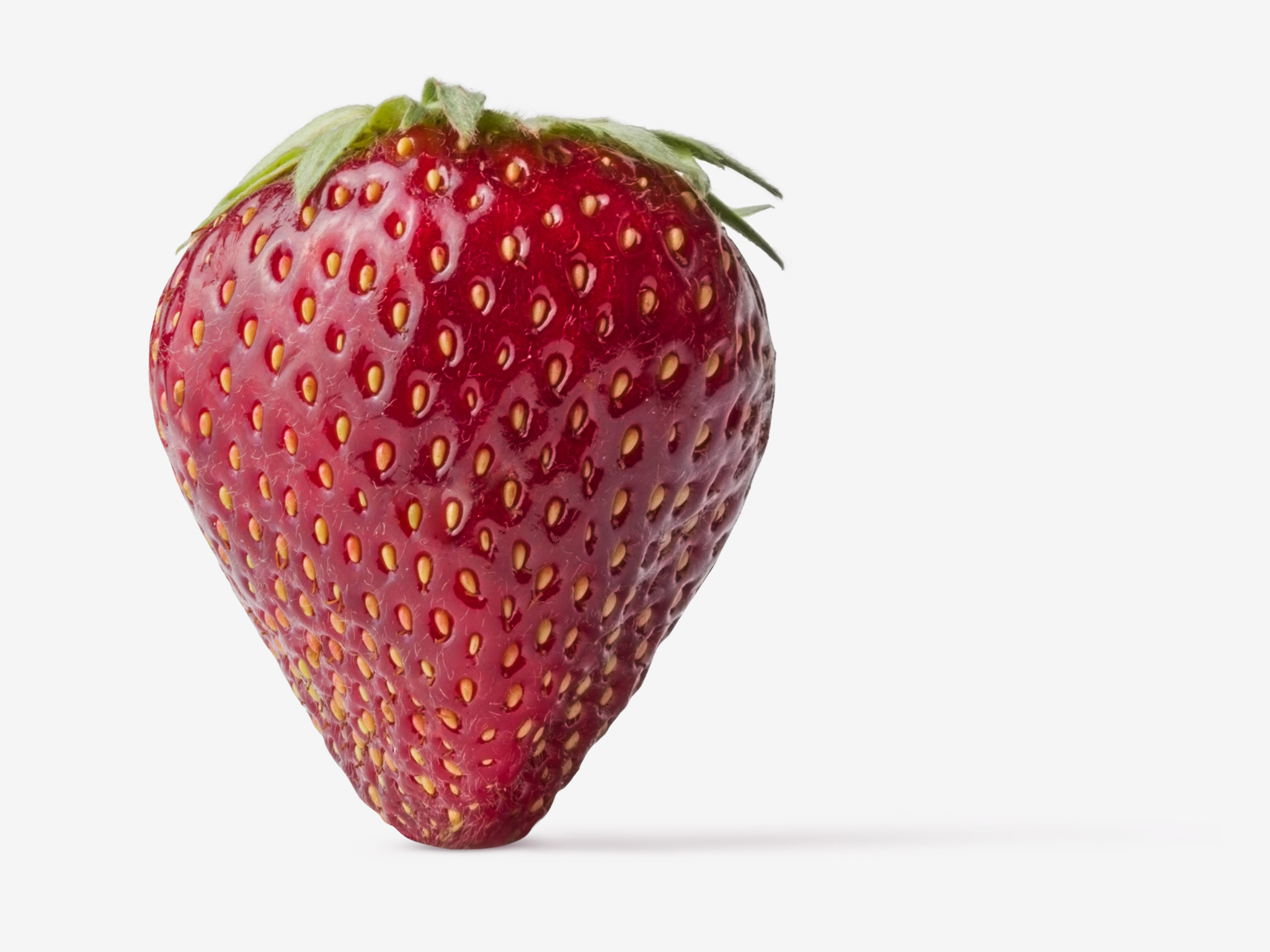 Strawberry PSD isolated image