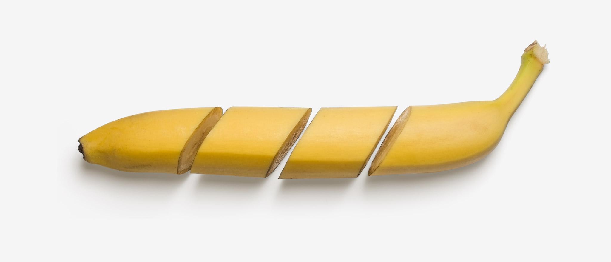 Banana PSD layered image