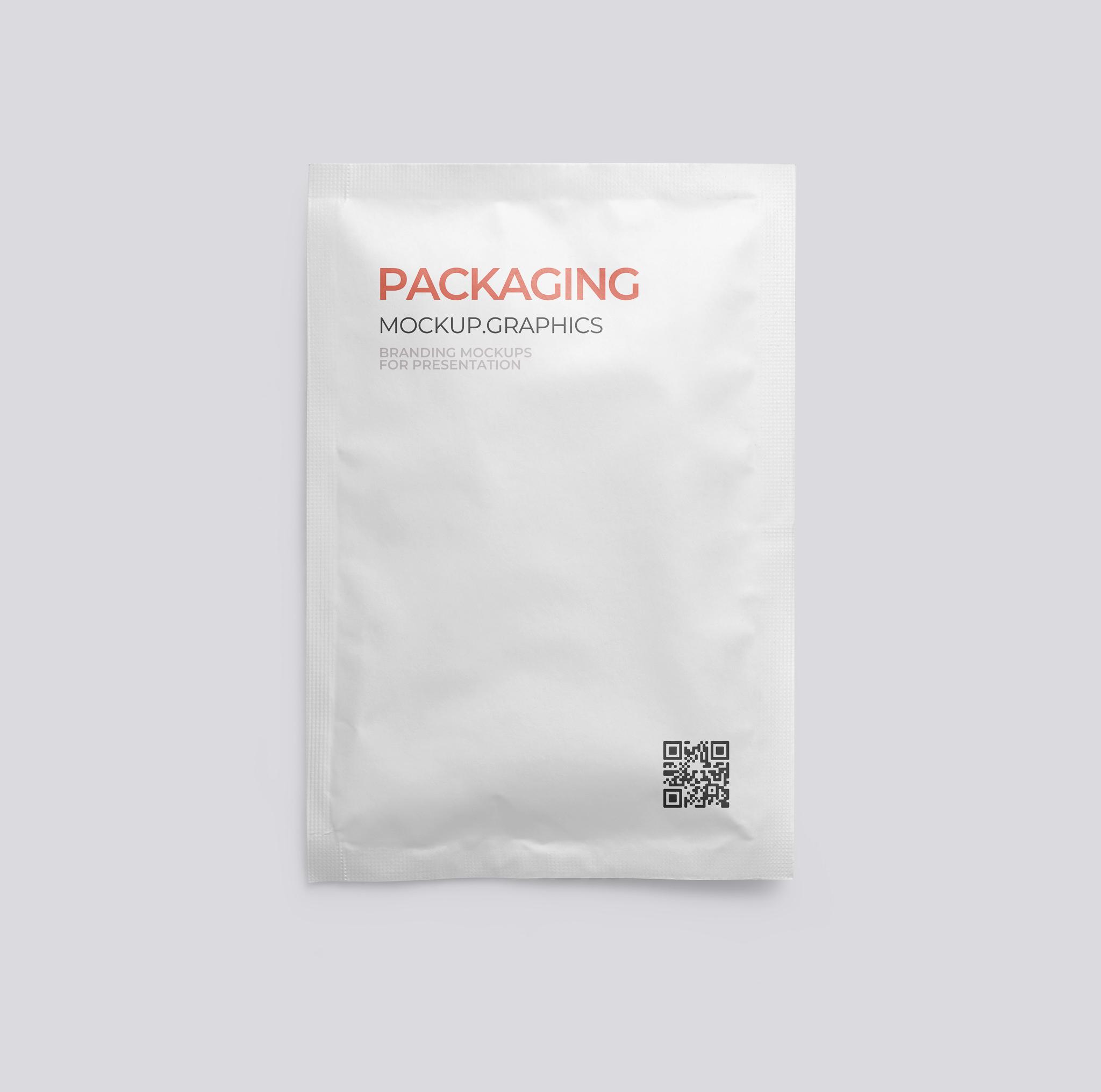 Seasoning package mockup