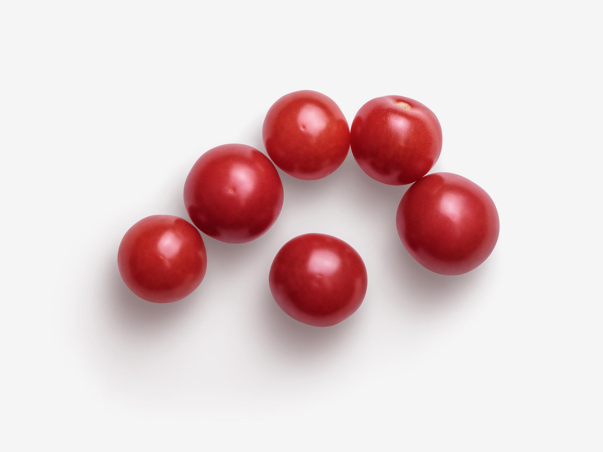 Tomato PSD isolated image