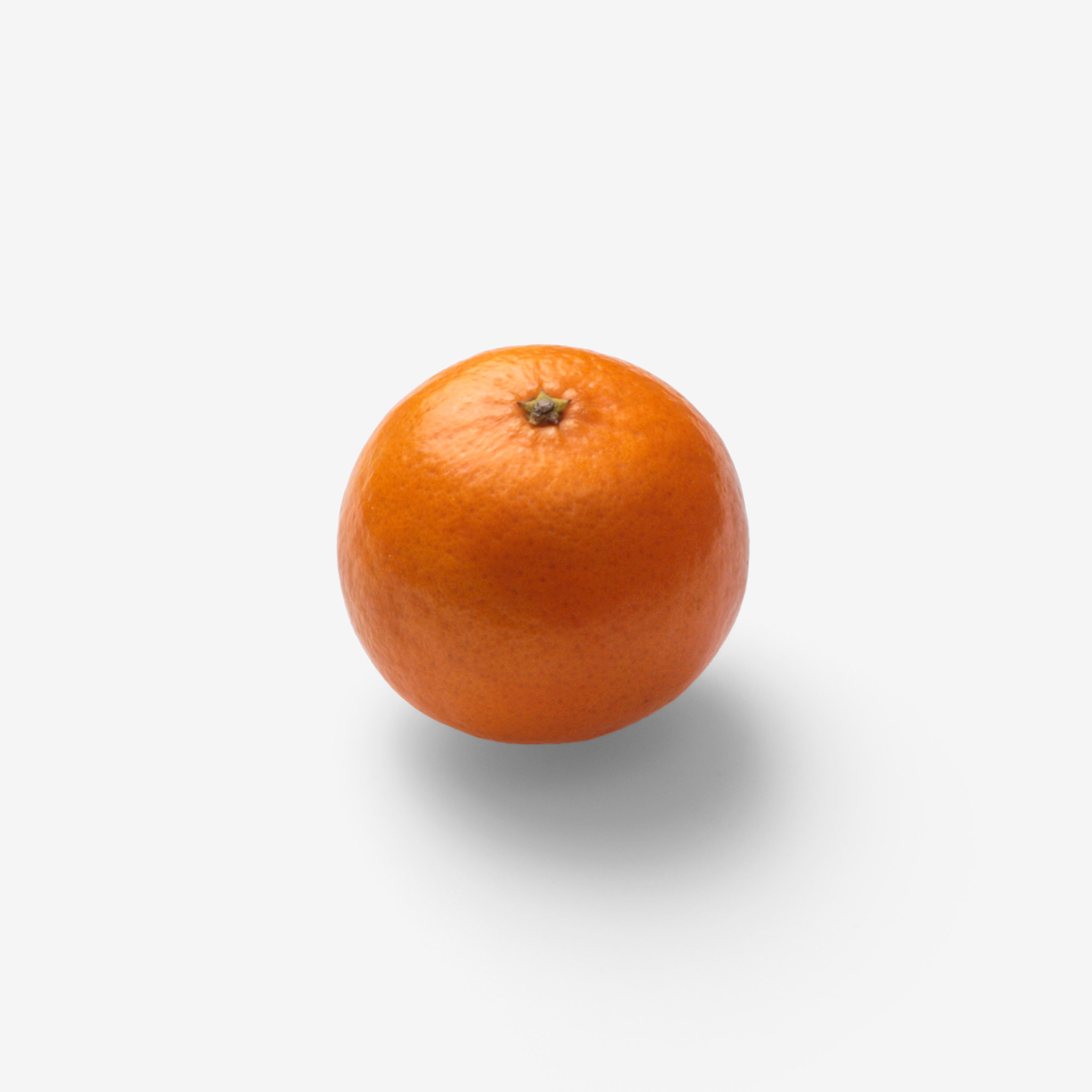 Orange PSD image with transparent background