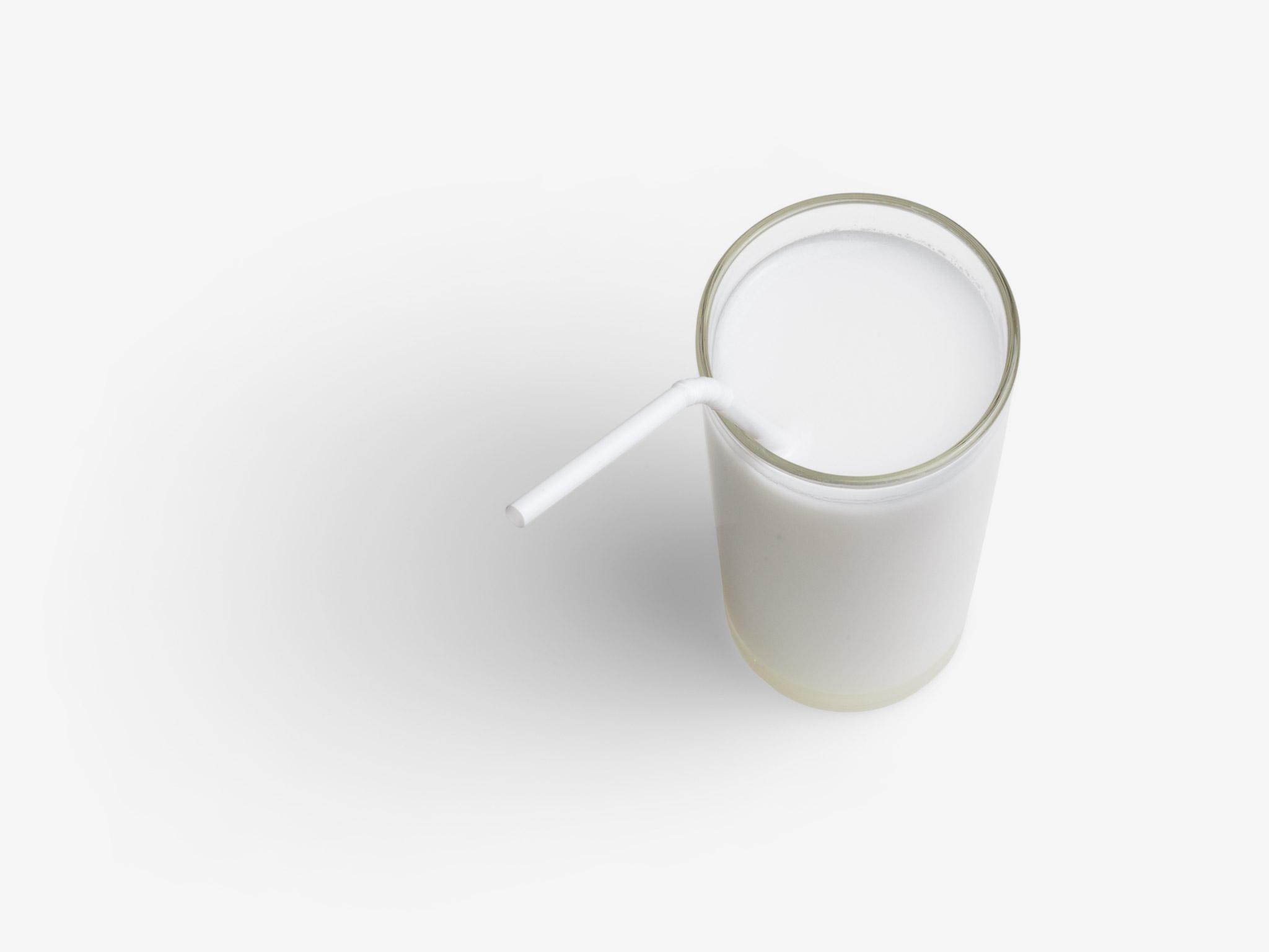 Coconut milk PSD layered image