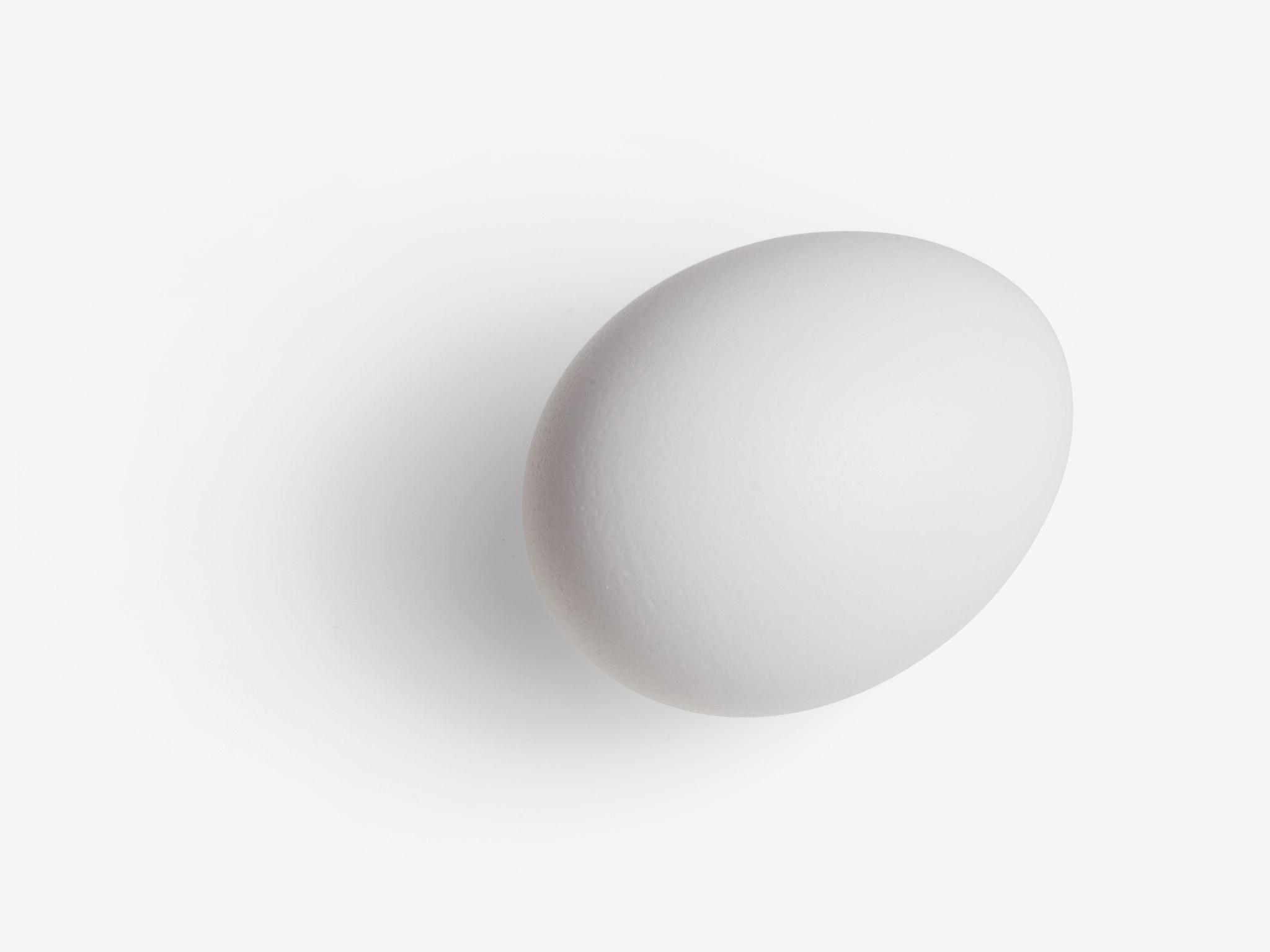 Egg image asset with transparent background