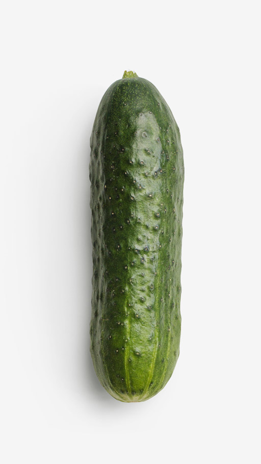 Cucumber PSD image with transparent background