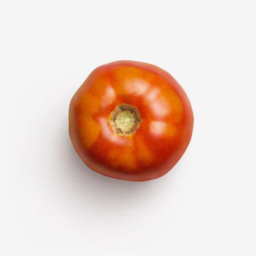 Tomato PSD isolated image
