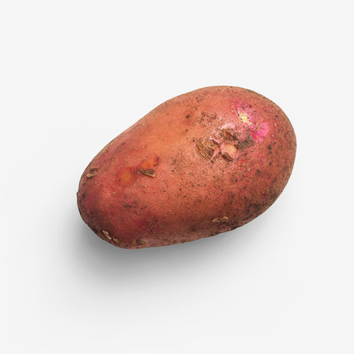 Potato PSD layered image