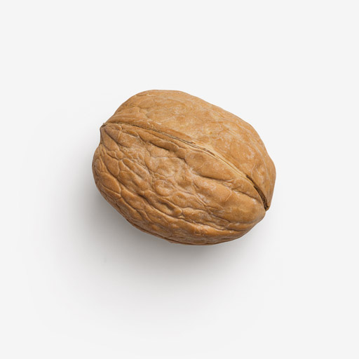 Walnut image with transparent background