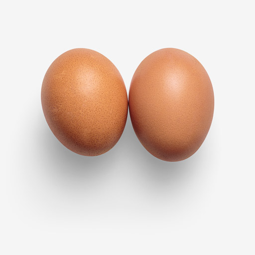 Egg image asset with transparent background