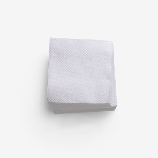Napkin image asset with transparent background