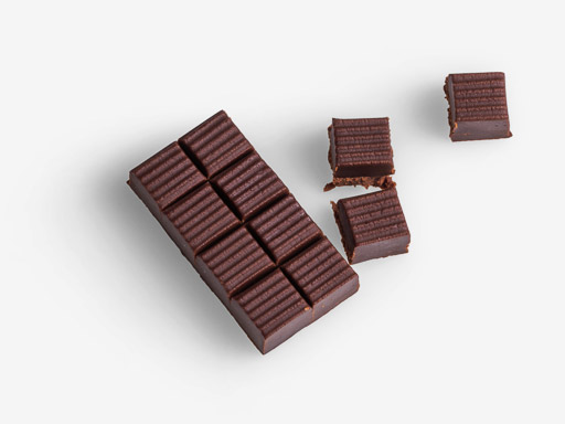 Chocolate image asset with transparent background