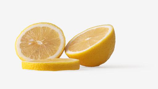 Lemon image with transparent background
