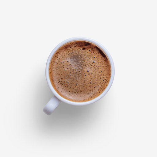 Coffee image asset with transparent background