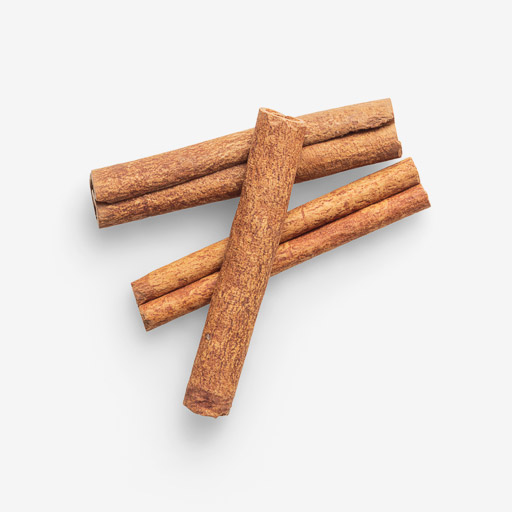 Cinnamon PSD isolated image