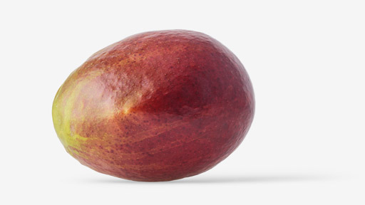 Mango PSD image with transparent background